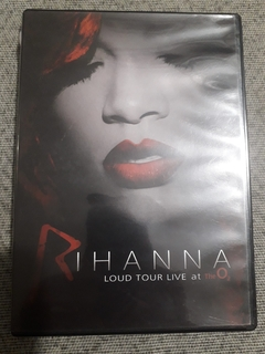 Dvd Rihanna - Loud Tour Live At The O²