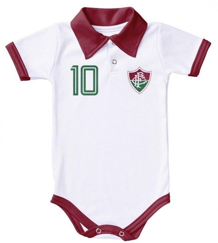 ec2e764bd32b2 Body do Fluminense Polo Branca - Só Tricolor Niterói