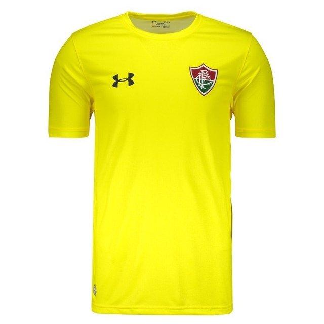 0e8dca2f3a426 Camisa Goleiro Amarela Under Armour