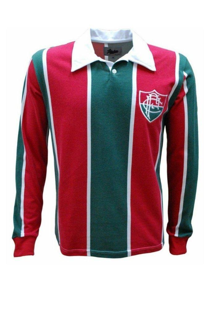 ab13e270fbc85 Camisa Retrô 1913 Manga Longa - Só Tricolor Niterói