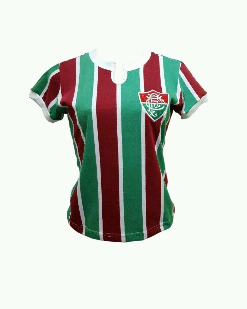a3d5b5f59ed90 Retrô 76 Flu Feminina - Só Tricolor Niterói