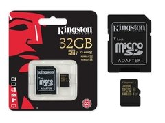 CARTAO DE MEMORIA MICRO SD 32GB KINGSTON na internet