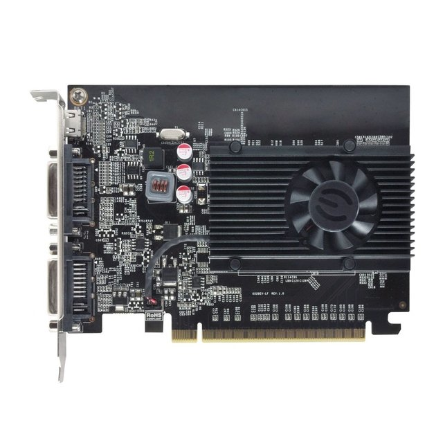 PLACA DE VIDEO 1GB EVGA GEFORCE GT610 - loja online