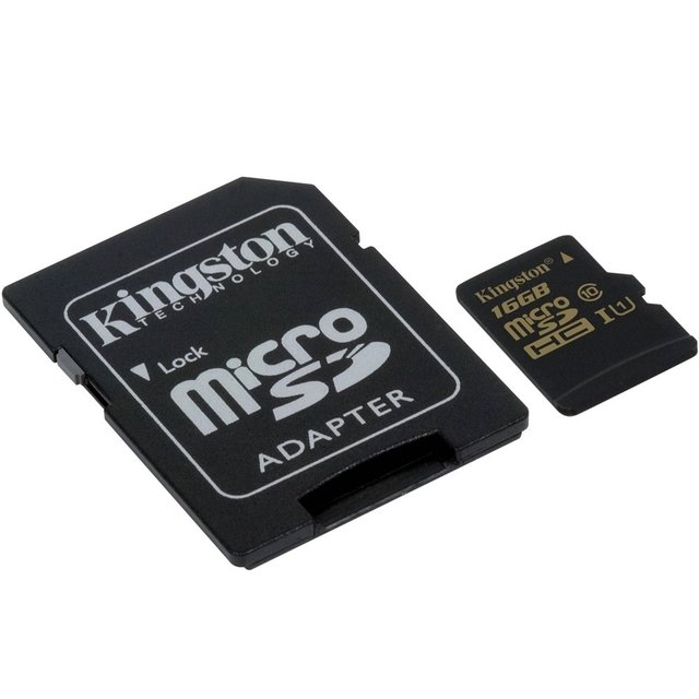 CARTAO DE MEMORIA MICRO SD 16GB KINGSTON - comprar online