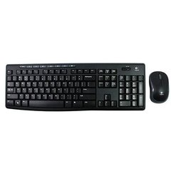 KIT TECLADO+MOUSE LOGITECH WIRELESS MK270 - comprar online