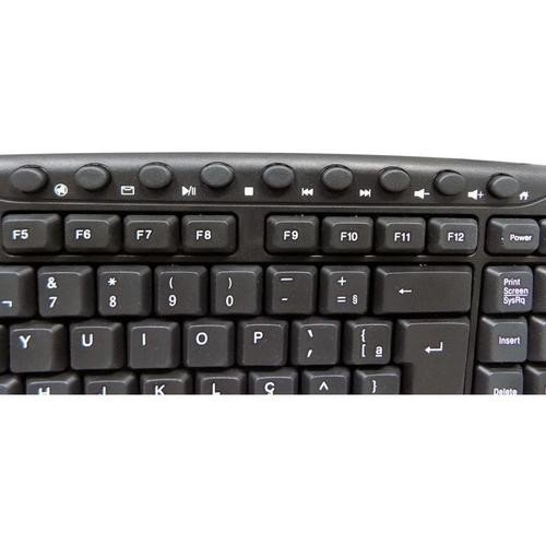 TECLADO SPINN MULTIMIDIA PS2 na internet