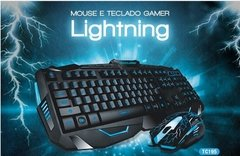 KIT TECLADO+MOUSE MULTILASER GAMER TC195