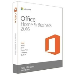 SOFTWARE OFFICE 2016 HOME & BUSINESS