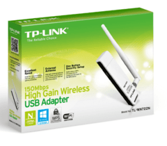 ADAPTADOR USB WIRELESS TP-LINK TL-WN722N - comprar online