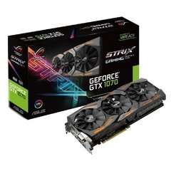 PLACA DE VIDEO 8GB ASUS GEFORCE GTX1070 GAMING - Loja Virtual DrInfoNet www.drinfonet.com.br Cuidando da sua vida digital.