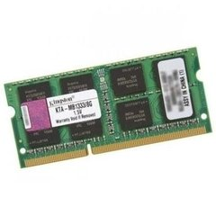 MEMÓRIA P/NOTEBOOK 8GB DDR3 KINGSTON