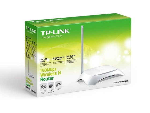 ROTEADOR WIRELESS TP-LINK TL-WR720N na internet