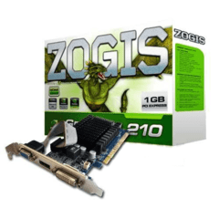 PLACA DE VIDEO 1GB ZOGIS GT210