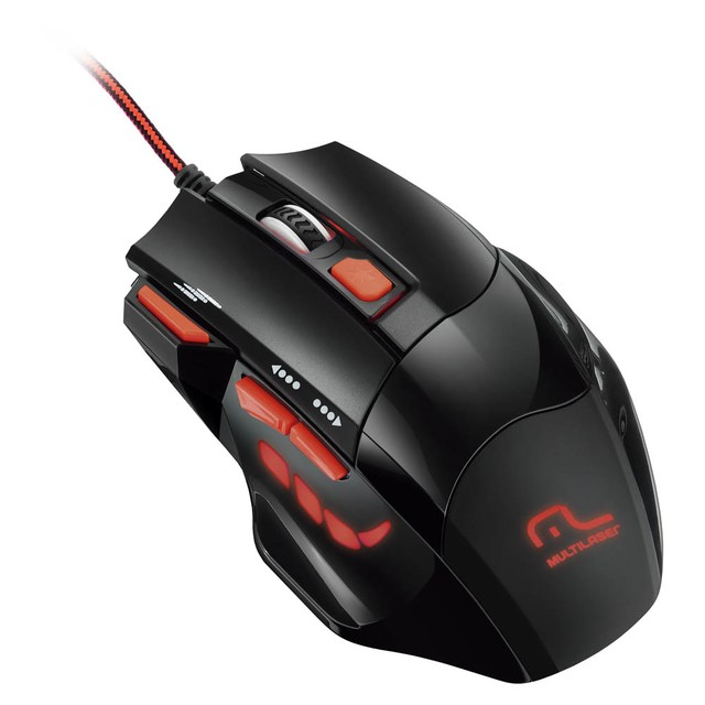 MOUSE MULTILASER XGAMER FIRE BUTTON USB - comprar online