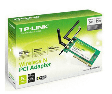 PLACA PCI WIRELESS TP-LINK TL-WN851ND - comprar online