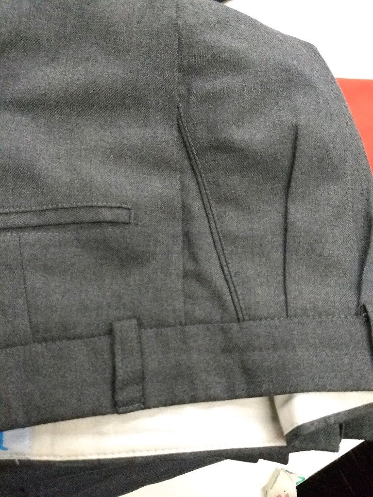 Pantalón de Vestir Sarga gris