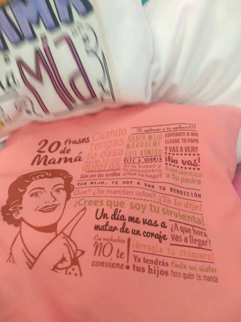 Almohadones personalizados ideal día de la madre