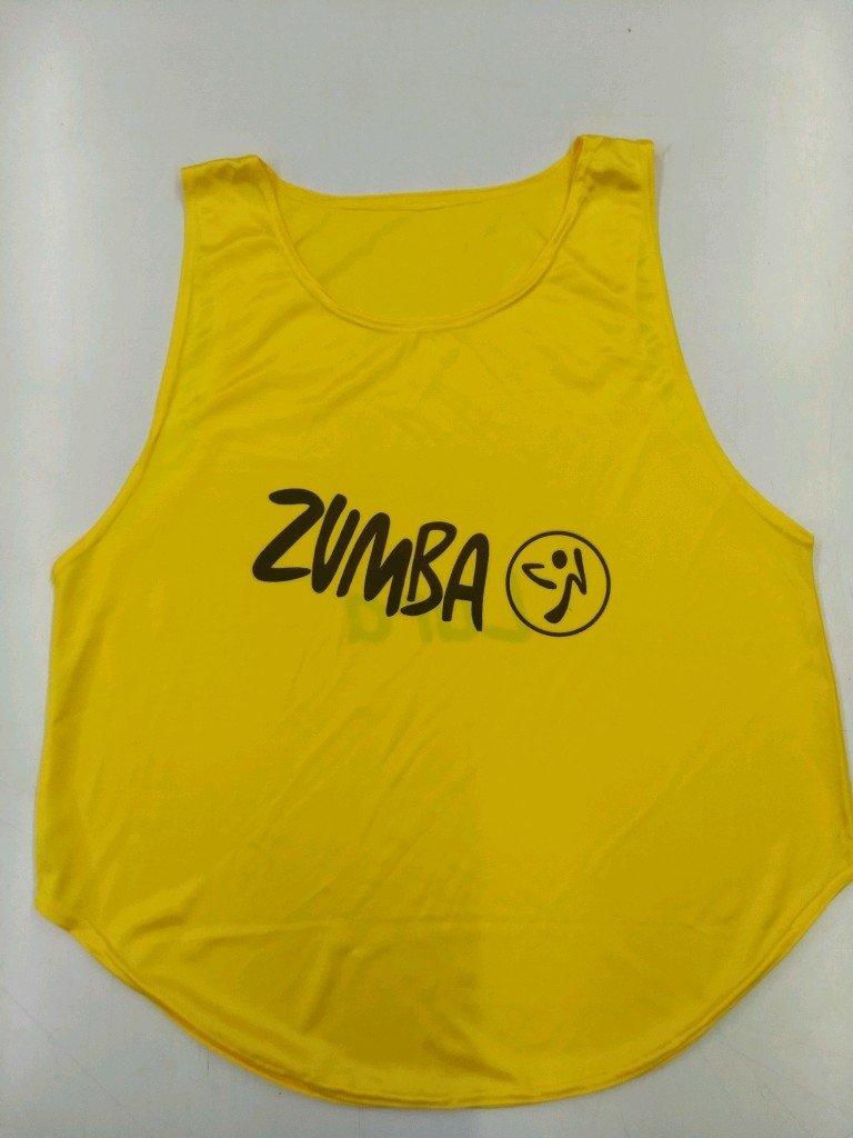 Remera musculosa para Zumba personalizada