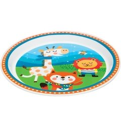 Pratinho Animal Fun Happy Friends - comprar online
