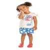 Conjunto Infantil Blusa e Shorts Colorful Day - Kiko e Kika