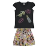 Conjunto Infantil com Saia Short Girl Power - Marlan