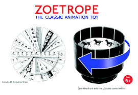Zoetrope (The classic animation toy) - comprar online