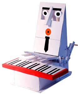 Paper Piano Player (Autómata)
