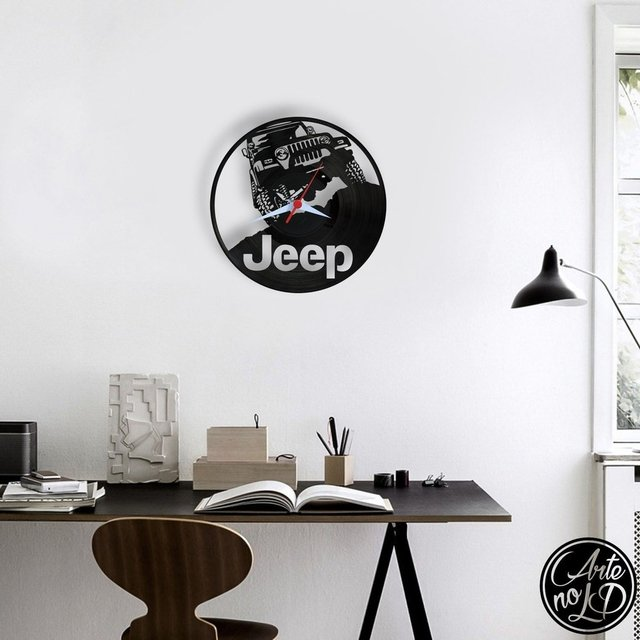 Jeep - Arte no LP