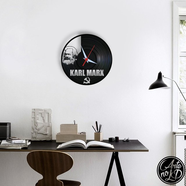Karl Marx - Arte no LP