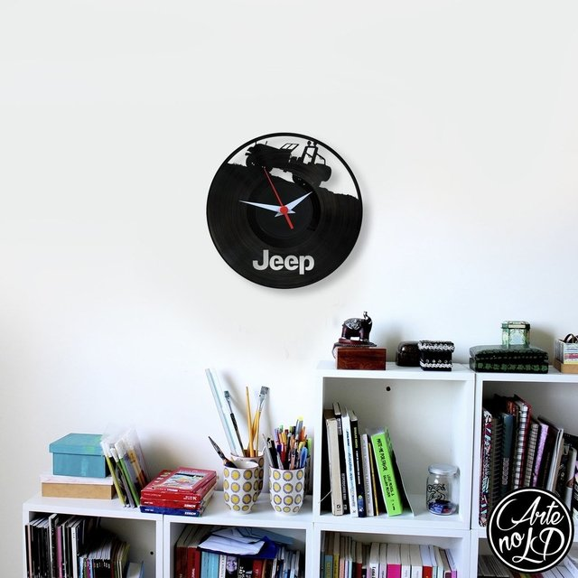 Jeep 2 - Arte no LP