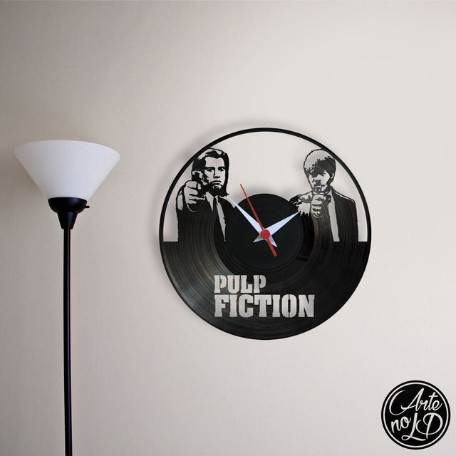 Pulp Fiction - Arte no LP