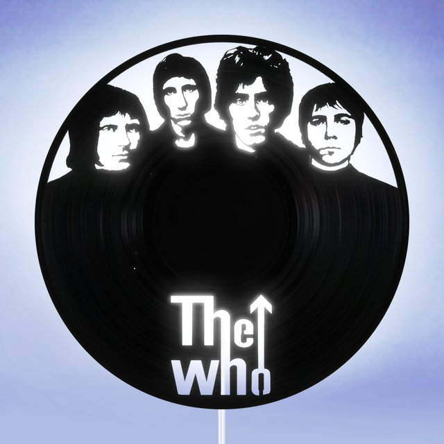 The Who - Luminária Led