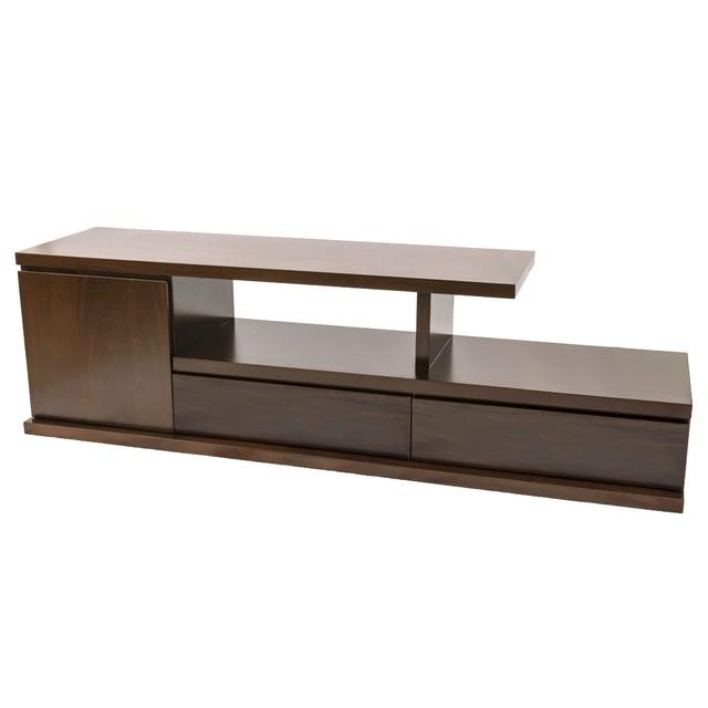Modelos de muebles para televisor mueble para tv con dos for Modelos de muebles para tv modernos
