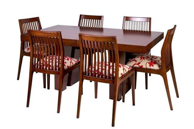 Mesa de madera extensible a 2m luana - Ofertas mesas de comedor ...