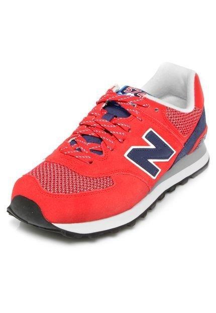 c09091432a2 New Balance Tênis New Balance ML574 Vermelho