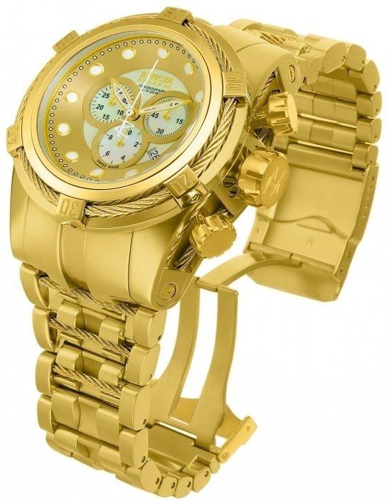 89a4799aa5b Invicta 12737 Reserve Bolt Zeus Swiss Made Chronograph Gold