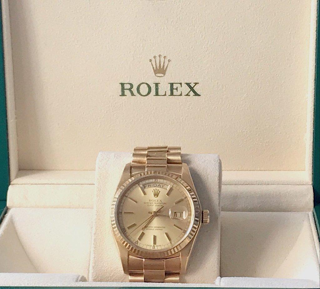 f150bf0bf41 Rolex Day-date President Todo De Ouro Amarelo