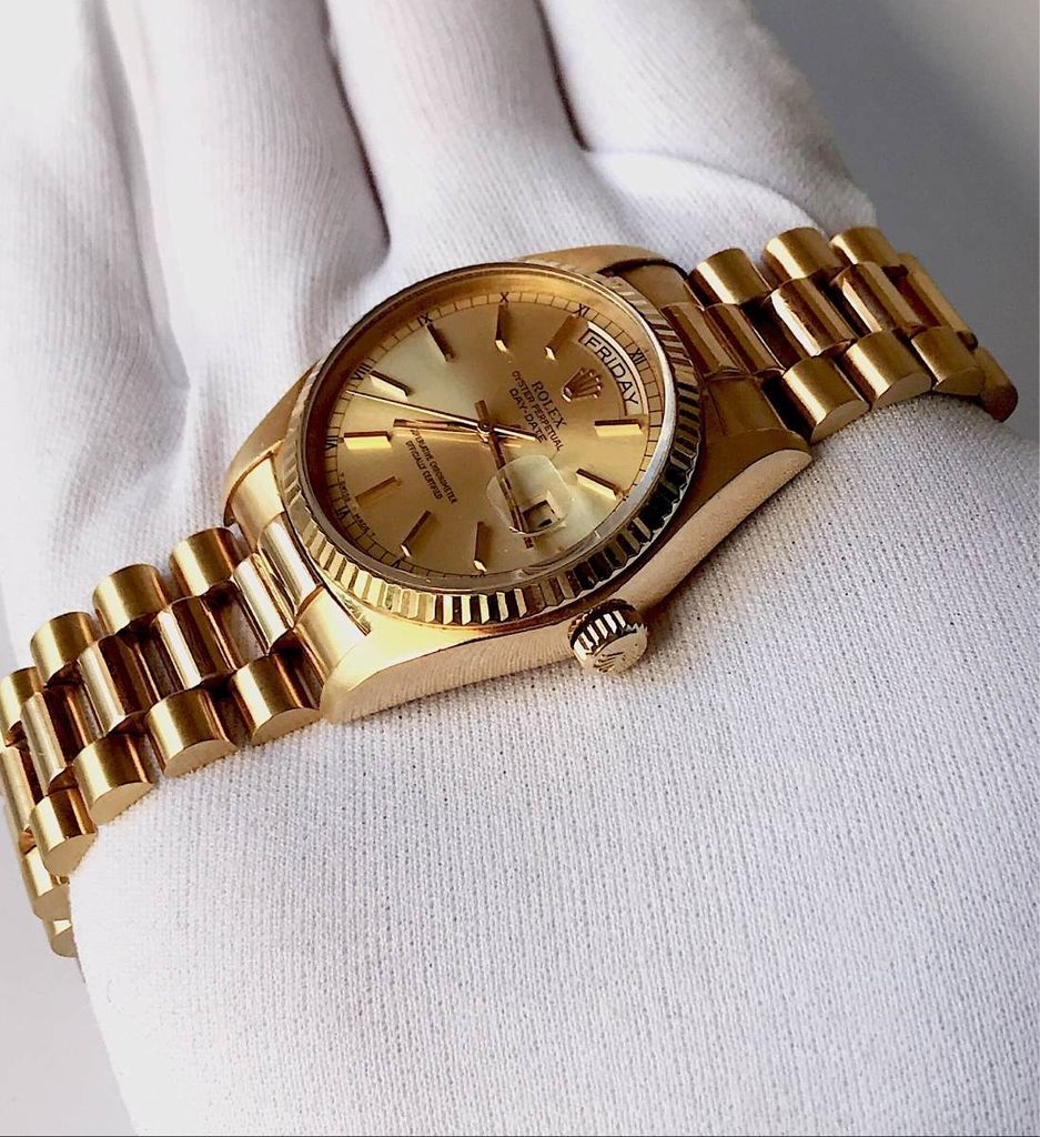607a3b1de52 Rolex Day-date President Todo De Ouro Amarelo. 0% OFF. 1