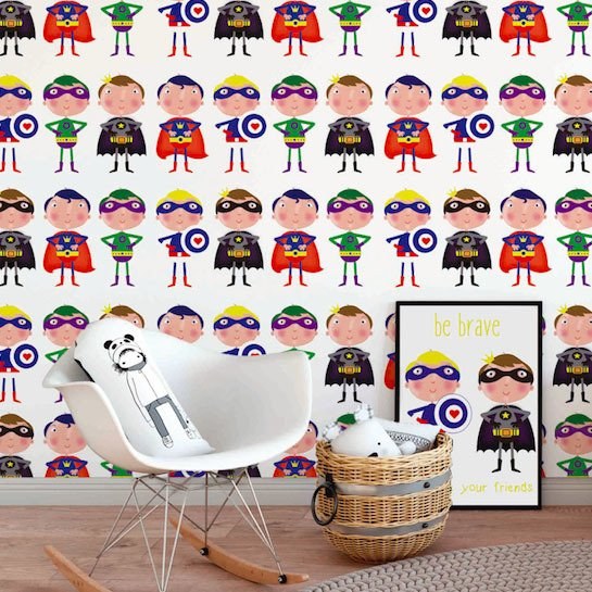 papel-de-parede-superheroes-branco-mama-loves-you