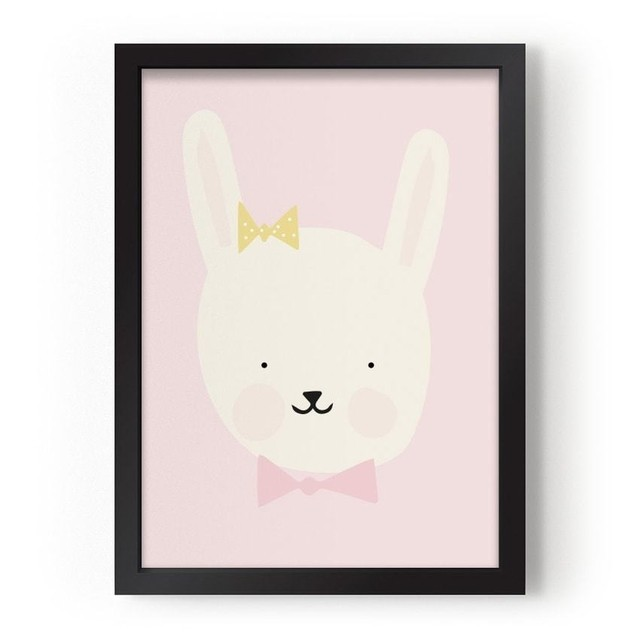 quadro-animal-friendly-miss-bunny-eef-lillemor