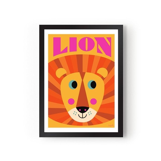 quadro-cards-lion-sun-omm-design