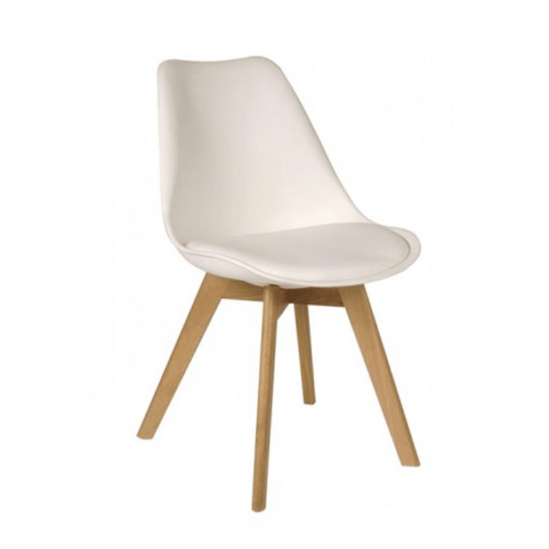 c24814d56 Silla Tulip Blanca / Madera - Comprar en Del Sur Design
