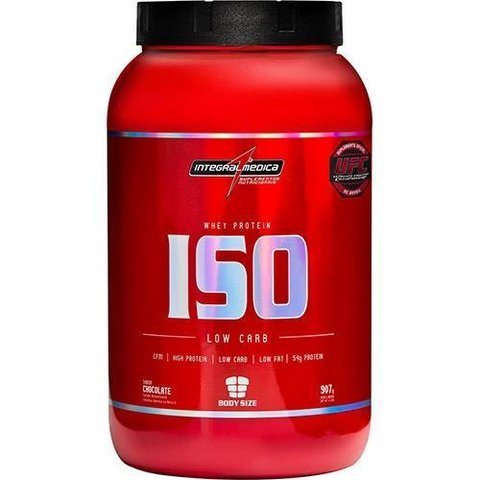 Whey Protein ISO Low Carb Body Size Chocolate 907g - Integralmédica