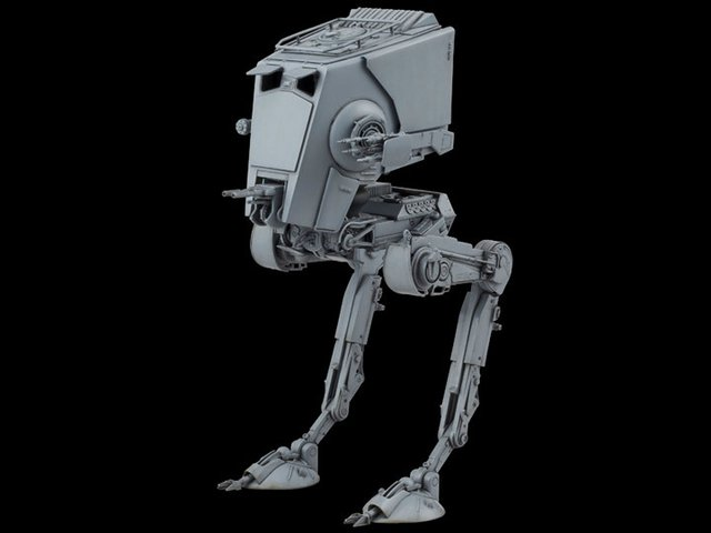 MODEL KIT - BANDAI - STAR WARS - AT-ST