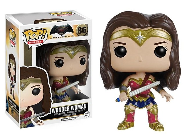 POP! VINYL - BATMAN VS SUPERMAN - WONDER WOMAN - #86
