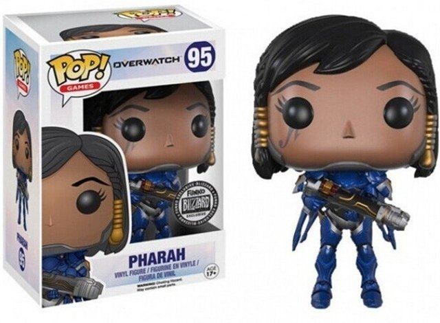 POP! VINYL - OVERWATCH - PHARAH - BLIZZARD - comprar online