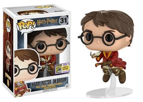 POP! VINYL - HARRY POTTER - HARRY POTTER ON BROOM - SDCC 2017