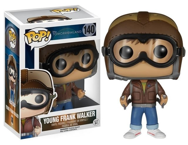 POP! VINYL - TOMORROWLAND - YOUNG FRANK WALKER