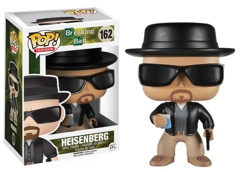 POP! VINYL - BRAKING BAD - HEISENBERG (CAIXA AMASSADA)