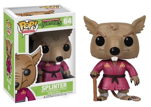 POP! VINYL - TARTARUGAS NINJAS - SPLINTER